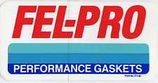 Vintage Fel-Pro Performance Gaskets Race Car Contingency Decal
