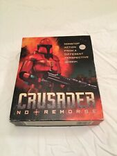 Crusader No Remorse - PC Big Box Complete - Game Disc is in Great Shape RARE