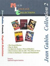 Jean Gabin  Collection 2 .  5 Movies.  French. English Subtitles. 2DVD's  set.