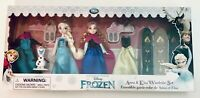 Disney Store Frozen Elsa Anna & Olaf Mini Doll Wardrobe Play Set NIB HTF Set