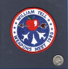 Original William Tell 1980 F-4 F-106 F-101 USAF Fighter Squadron Patch