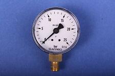 Afriso Manometer 0-25 bar Pumpenprüfkoffer Ölpumpe Ölbrennerpumpe Ölbrennerdüse