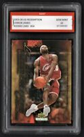 2003/04 LeBron James Upper Deck Redemption Rookie 1st Graded 10 Lakers Card #54