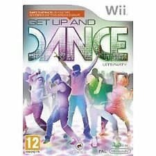 Nintendo wii jeu get up & Et and dance comme Just Dance Danse NEUF