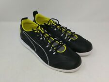 Puma Men's Black/Yellow Ferrari Sneakers Size 9 US