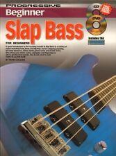 PROGRESSIVE BEGINNER SLAP BASS + CD & DVD