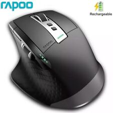 Rapoo Wireless Mouse Bluetooth + RF Rechargeable Laser Mice For PC Laptop MT750S