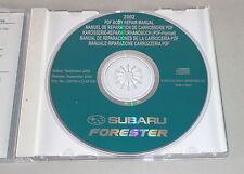 Werkstatthandbuch auf CD Subaru Forester Karosserie Modelljahr 2002