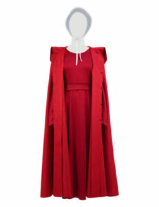 The Handmaid's Tale Offred Cosplay Costume Women Halloween Cosplay Dress