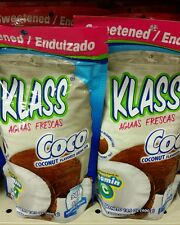 KLASS Coco (Coconut) Drink Mix - 2 BAGS of 14.1 oz each. FREE PRIORITY SHIPPING