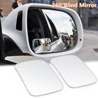 1 Pair Adjustable Car RV Blind Spot Mirror Glass Exterior Rear Side View Durable Alfa Romeo 147