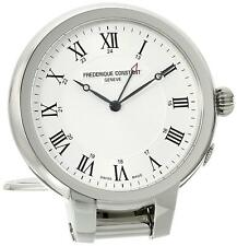 FREDERIQUE CONSTANT Silver Dial Travel Alarm Clock  FC-209MC5TC6