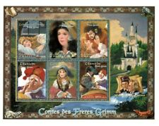 Haiti - Brother's Grimm - Fairy Tales - Sheet of 6 Stamps - MNH