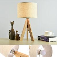 Lampe table trépied moderne salon éclairage nuit bureau chevet + ampoule LED ME