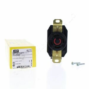 Hubbell Twist Locking Receptacle Outlet L16-30R 30A 480V 3-Phase HBL2730