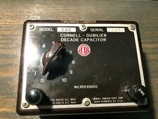 Cornell Dubilier Decade Capacitor CDC3 Substitution Box #15287