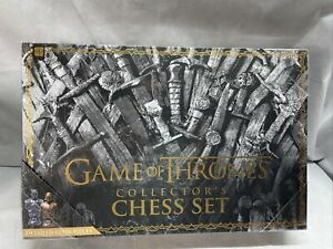 Game Of Thrones Collector's Chess Set - New Sealed - USAopoly - HBO