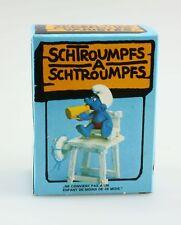 Figurine plastique Schtroumpfs (Les) Schtroumpf maitre nageur + boite