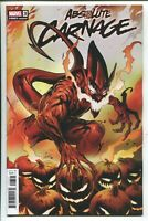 ABSOLUTE CARNAGE #3 GREG LAND CODEX VARIANT COVER  MARVEL COMICS/2019 - 1/25
