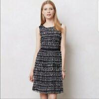 Postmark Anthropologie Swiss Dots Mesh Dress Size M Fit & Flare Sleeveless G8