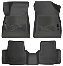 Husky Front & 2nd Seat Floor Liners Fits 2016-2018 Chevrolet Cruze 99161