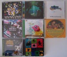 LOT de Bandes Originales CD officiels / exclusifs club. Nintendo RARE