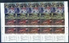 Lesotho 1983 Rock Paintings 10 sets & miniature sheet mint n.h. (2020/09/17#09)
