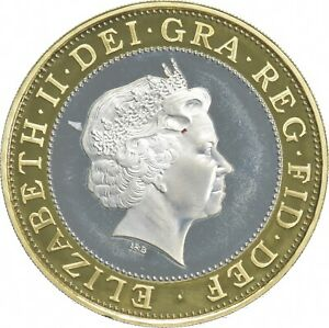 1998 United Kingdom 2 Pounds - Technology - Charles Coin Collection *845