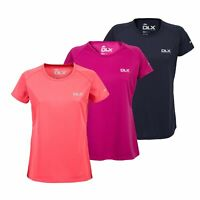 DLX Womens Tshirt Short Sleeve Workout Active Gym Top Alonza