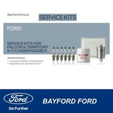SERVICE KIT FG XR6 MODELS PETROL AIR FUEL & OIL FILTER & SPARK PLUGS - FORD