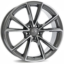 MAM A5 8x18 5x112 ET45 PFP palladium front polish MAMA5 Audi A3 A4 A6 Seat Leon