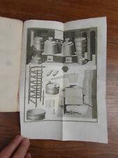 Comte CHAPTAL / L'ART DE FAIRE LES EAUX DE VIE ET LES VINAIGRES Mequignon 1819