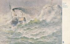 TUCK:SEA PICTURES-Steam Tug in a Gale-PARSONS NORMAN-Aquarette 6267