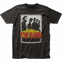 The Band Poster T Shirt Mens Licensed Rock N Roll Music Band Tee New Black