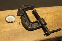 Antique Vintage Style Cast Iron Table Clamp Bottle Opener