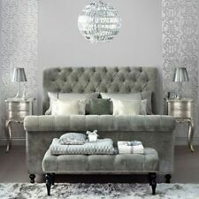 Fabric Bedroom Art Deco Style Furniture