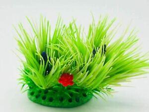 2Pack Aquarium Fish Tank Plastic Plants for Decoration MULTIPLE STYLES COLOURS