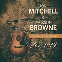 JONI & JACKSON BROWNE MITCHELL - LIVE 1979  3 CD NEU