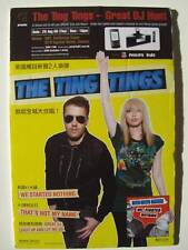 """TING TINGS """"STARTED NOTHING"""" HK STANDUP COUNTER DISPLAY"""