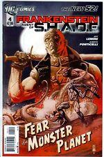 FRANKENSTEIN AGENT OF S.H.A.D.E. # 4 (DC COMICS, THE NEW 52! - FEB 2012), NM