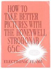 Strobonar 65C Electronic Flash Guide