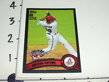 Justin Upton / TOPPS 2011 #US316 Black Variant SP/60 Diamondbacks ATLANTA Braves