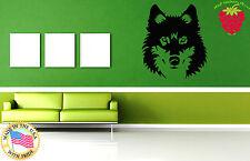 Wall Stickers Vinyl Decal Wild Animal Tribal Wolf Predator  Decor Mural  ig047