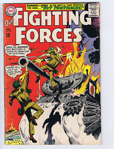 Our Fighting Forces # 89 DC Pub 1965 Gunner and Sarge,