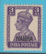 INDIA NABHA 107 MINT NEVER HINGED OG ** NO FAULTS EXTRA FINE !