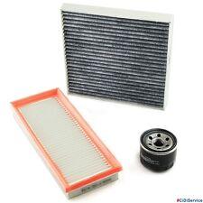 Kit tagliando 3 Filtri Completo MCC Smart (451) 1.0 Mhd Turbo Brabus