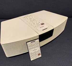 Bose Wave Radio AWR 1 Stereoanlage AUX Bluetooth + FB Cremeweiss