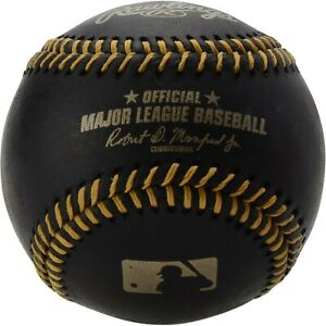 Official Rawlings MAJOR LEAGUE BASEBALL ROMLB BLACK Baseball