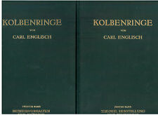 ENGLISCH CARL KOLBENRINGE ZWEI BANDEN SPRINGER VERLAG 1958 INGEGNERIA MECCANICA