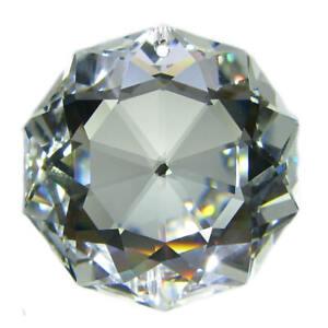 Swarovski® Crystal 'Dahlia' 38mm Clear ~ Feng Shui Regenbogenkristall Suncatcher